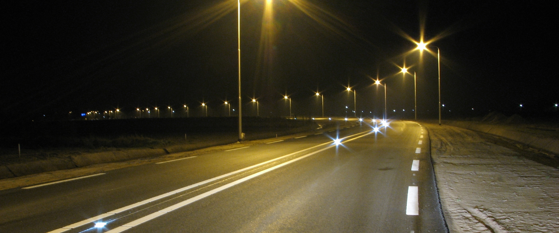 Dangerous Curve LED Road light