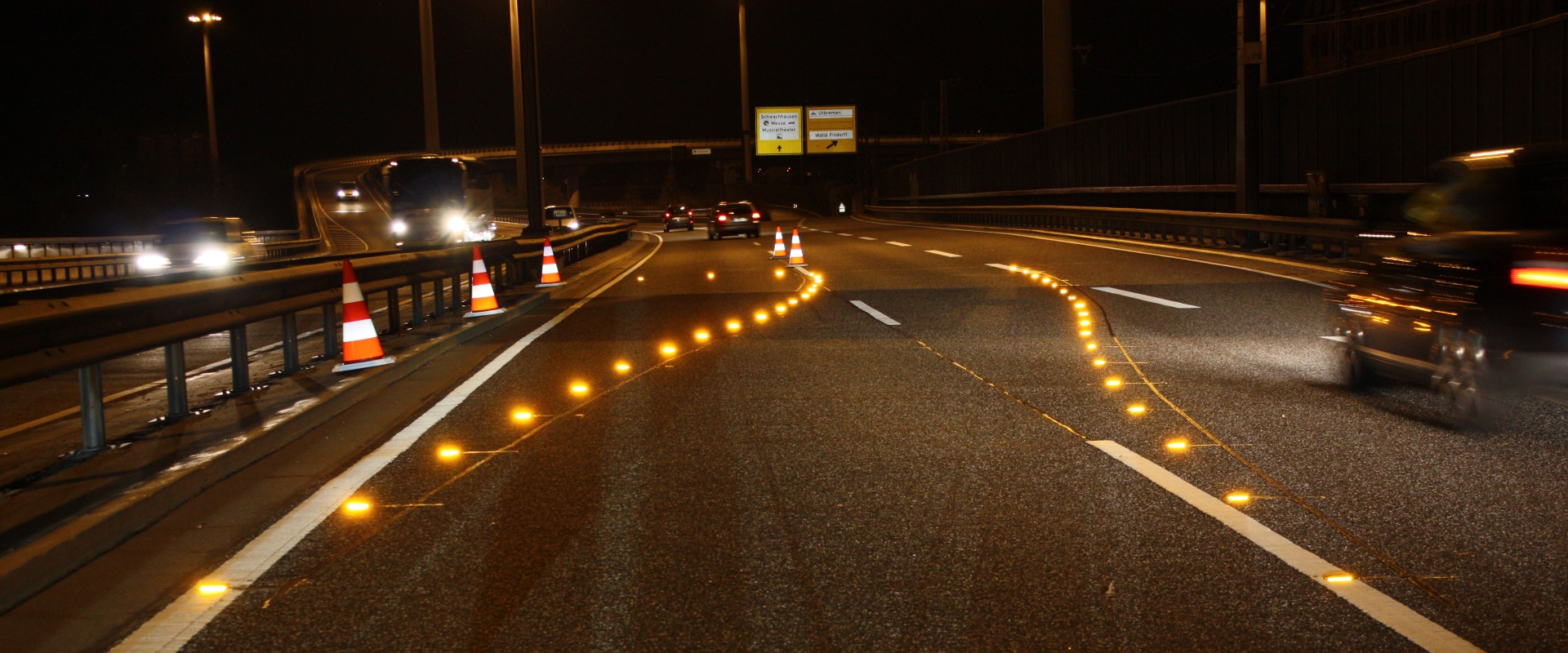 Motorway Guidance Lighting